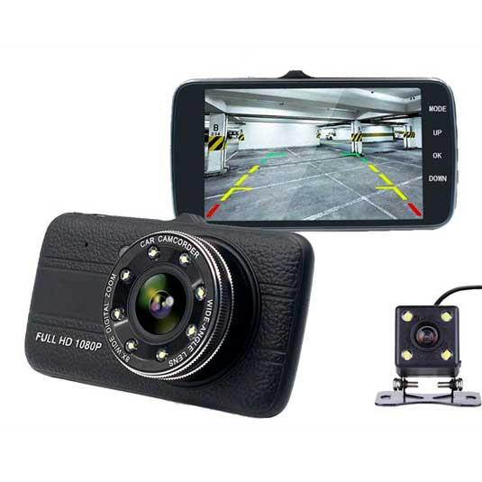 دوربین خودرو دو لنز با کیفیت
