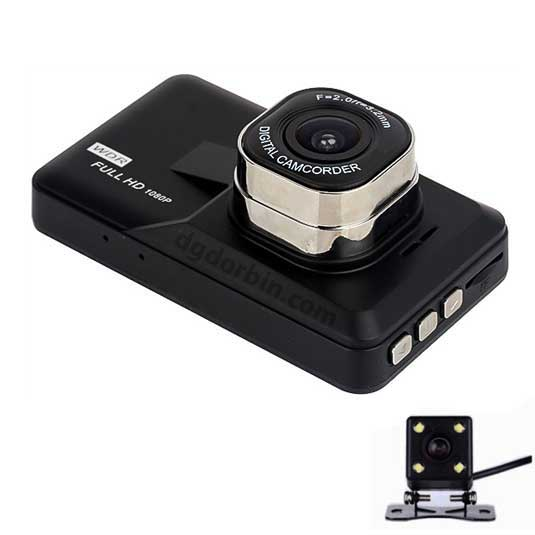دوربین خودرو دو لنزه دید در شب دار
