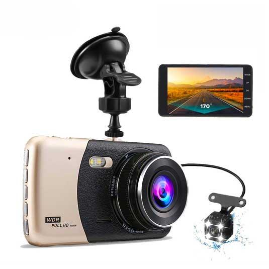 دوربین ماشین دو لنزه