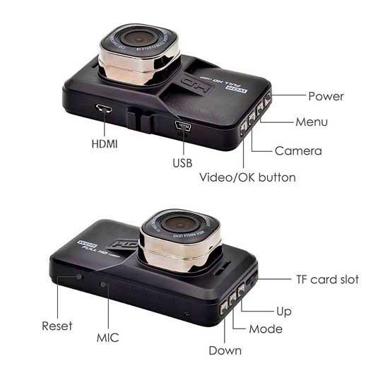 راهنمای راه اندازی دوربین خودرو