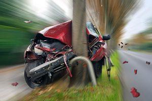 تصادف با سرعت غیرمجاز
