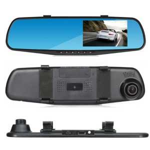 دوربین خودرو آینه ای دو لنز