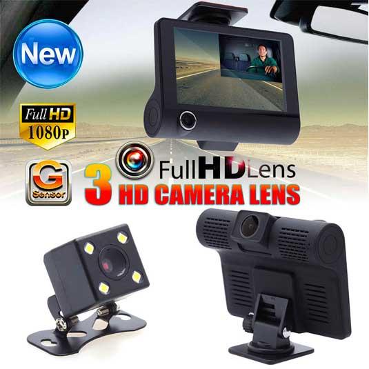 دوربین ماشین مدل 3lens S11