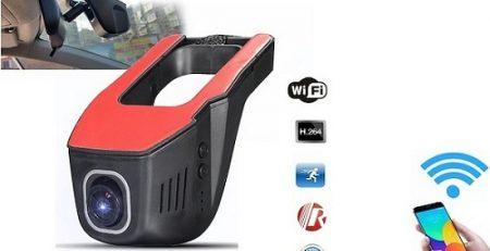 دوربین وای فای دار خودرو دو لنزه در دیجی دوربین